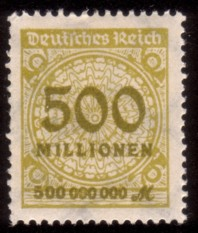 The Stamps Of Germanys Inflation Period