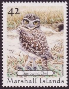 michael warren s owls marshall islands stamps birds wildlife